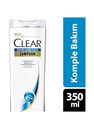 Clear Clear Şampuan Komple Bakım 350 Ml Renksiz